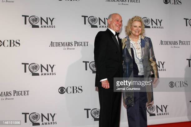 Marshall Rose and Candice Bergen attend the 66th Annual Tony Awards at The Beacon Theatre on June 10 2012 in New York City