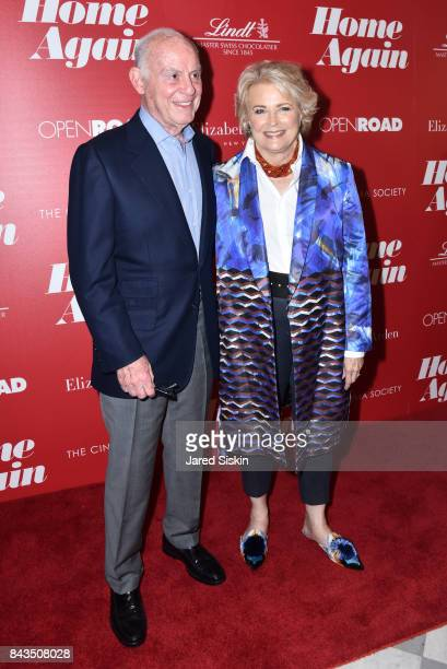 Marshall Rose and Candice Bergen attend The Cinema Society with Elizabeth Arden Lindt Chocolate host a screening of Open Road Films' Home Again at...