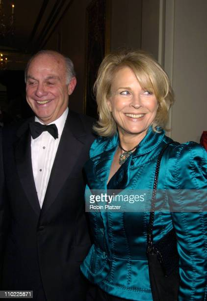 Marshall Rose and Candice Bergen during 11th Annual Living Landmarks Gala at The Plaza Hotel in New York City, New York, United States.