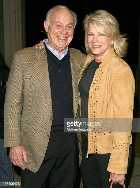 "Marshall Rose and Candice Bergen during Academy of Television Arts & Sciences: An Evening with ""Boston Legal"" at Leonard H. Goldenson Theater in..."