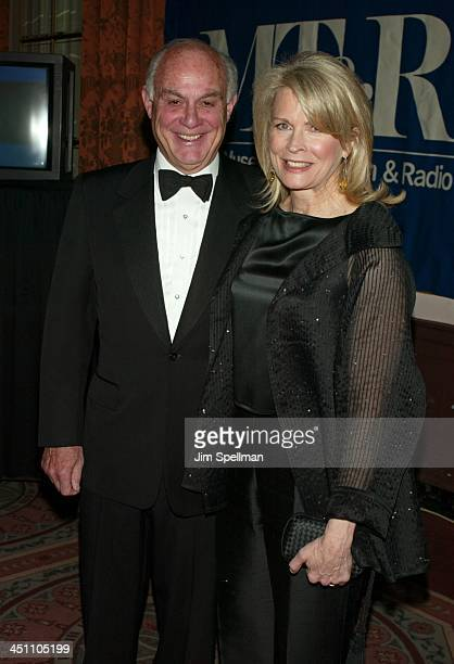 Marshall Rose and Candice Bergen during The Museum of Television & Radio To Honor Tom Brokaw at Waldorf Astoria in New York City, New York, United...