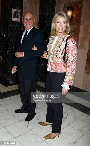 Marshall Rose, Candice Bergen during The Boy From Oz; Opening Night, NYC at The Imperial Theater in New York, New York, United States.