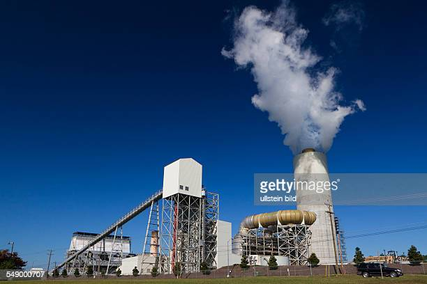 Marshall Steam Station a coalfired power plant owned by utility Duke Energy