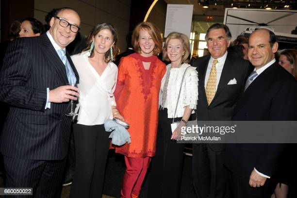 Marshall Sunshine Caryl Englander Colleen Criste Stephanie Schuman Fred Schuman and Jeffrey Rosen attend INTERNATIONAL CENTER OF PHOTOGRAPHY's 25th...