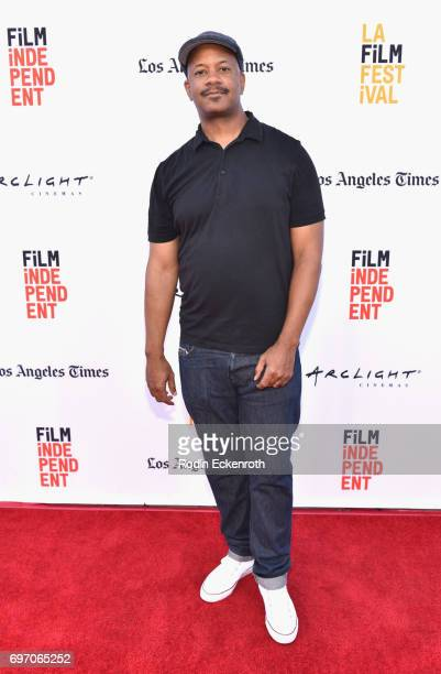 Marshall Tyler attends Shorts Program 1 during the 2017 Los Angeles Film Festival at Arclight Cinemas Culver City on June 17 2017 in Culver City...