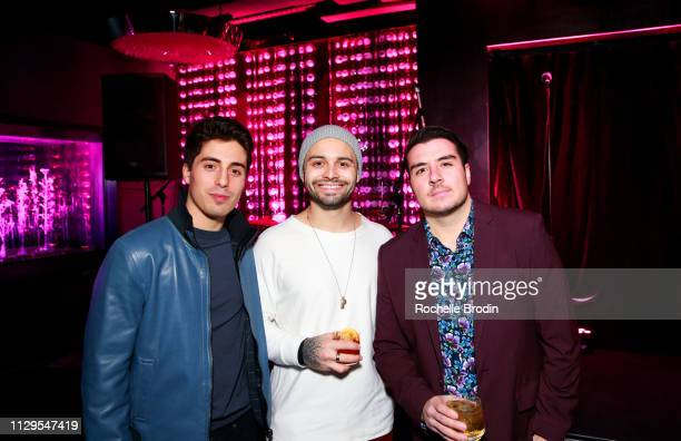 Marshall Wade Mike Gazzo Rob Calabrese attend Edo Ferragamo Release Party at 10 Corso Como on February 13 2019 in New York City