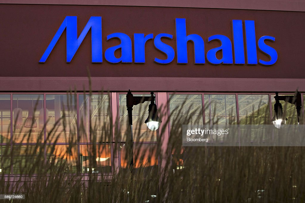 A Marshalls store stands at dusk in Peoria  Illinois  U S   on Sunday. TJ Maxx  Marshalls  And Home Goods Stores Ahead Of The TJX Cos