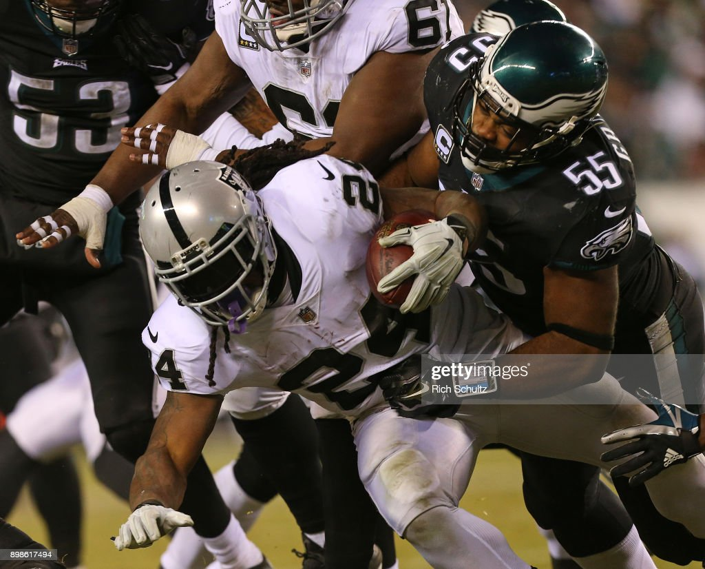 Oakland Raiders v Philadelphia Eagles : News Photo