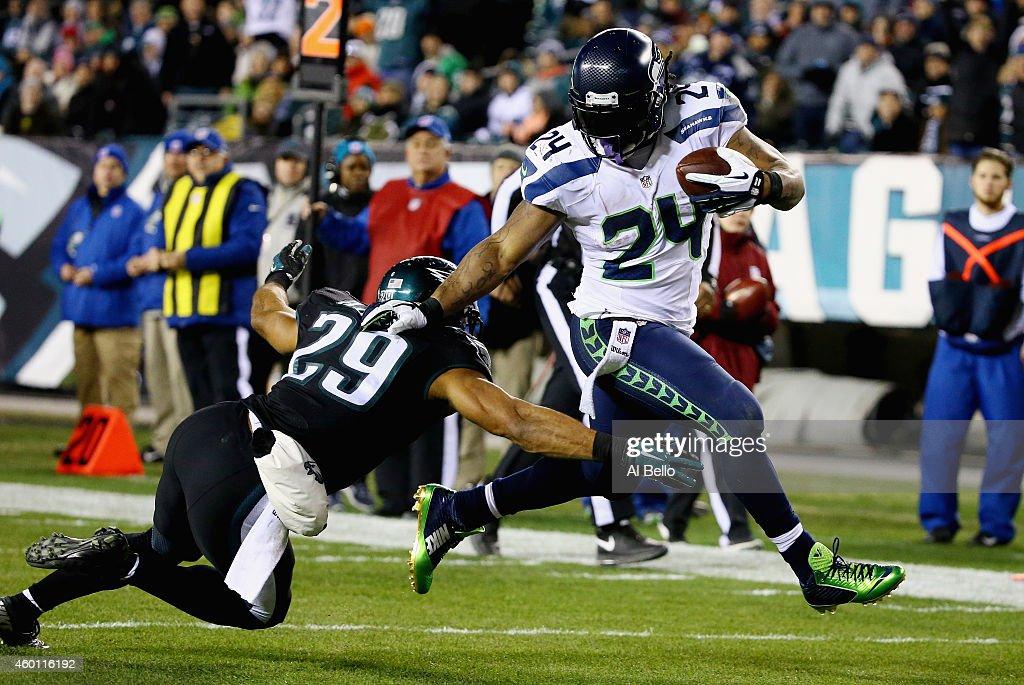 Seattle Seahawks v Philadelphia Eagles : Foto jornalística