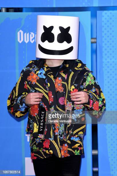 Marshmallow attends the MTV EMAs 2018 on November 4 2018 in Bilbao Spain