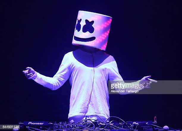 Marshmallow performs at the BBT Center on July 1 2016 in Sunrise Florida
