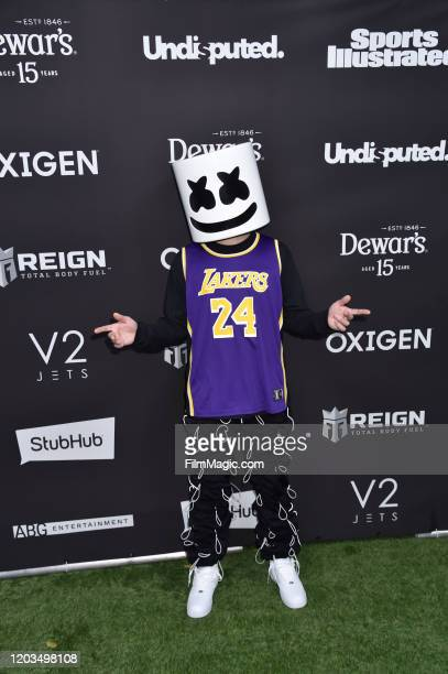 Marshmello attends Sports Illustrated The Party Brought To You By The Undisputed Group And ABG Entertainment With DaBaby Black Eyed Peas And...