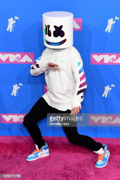 Marshmello attends the 2018 MTV Video Music Awards at Radio City Music Hall on August 20 2018 in New York City