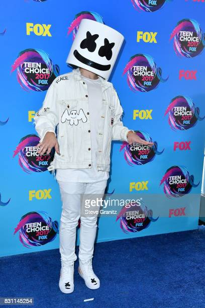 Marshmello attends the Teen Choice Awards 2017 at Galen Center on August 13 2017 in Los Angeles California