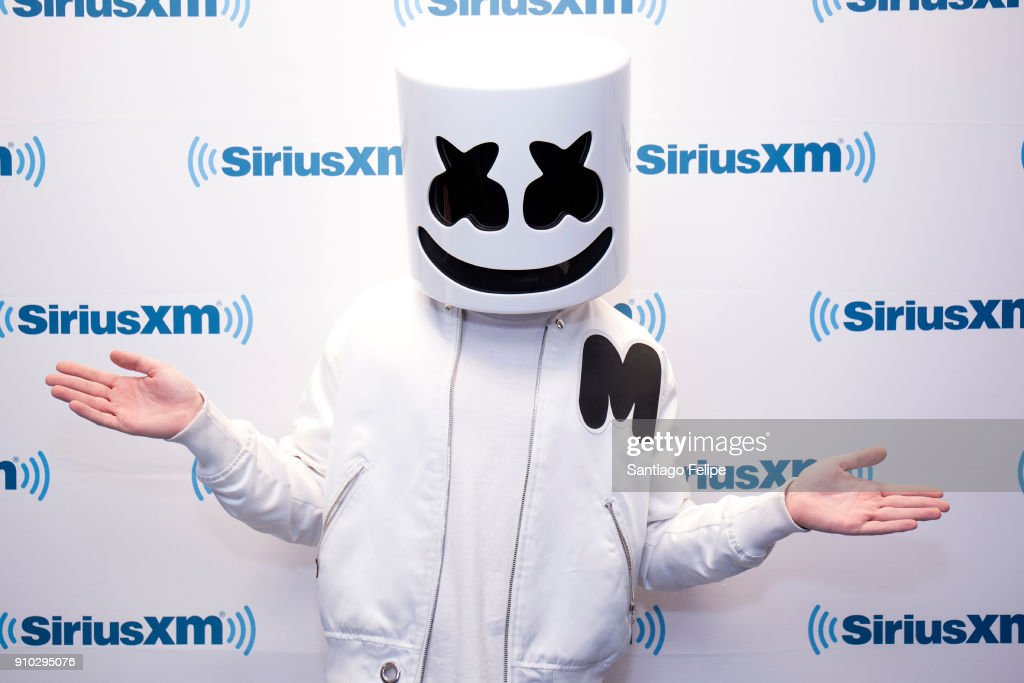 Marshmallow visits SiriusXM Studios on January 25, 2018 in New York City.