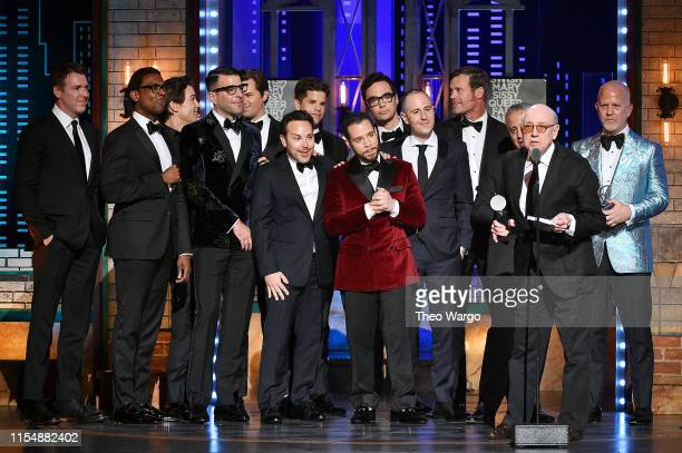 Mart Crowley accepts the award for Best Revival of a Play for The Boys in the Band onstage during the 2019 Tony Awards at Radio City Music Hall on...