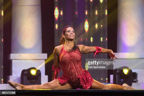 Marta Aguiar competes in Fitness International as part of the Arnold Sports Festival on March 3 at the Greater Columbus Convention Center in Columbus...