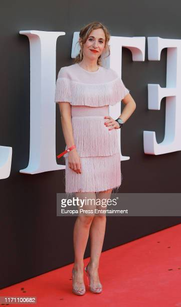 "Marta Aledo attends ""Elite"" 2nd Season Premiere at Callao Cinema on August 29, 2019 in Madrid, Spain."