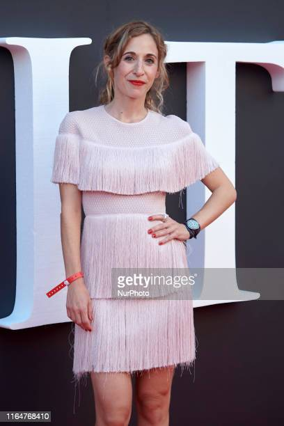 Marta Aledo attends the Netflix 'Elite' season 2 premiere at Callao Cinema in Madrid, Spain on Aug 29, 2019