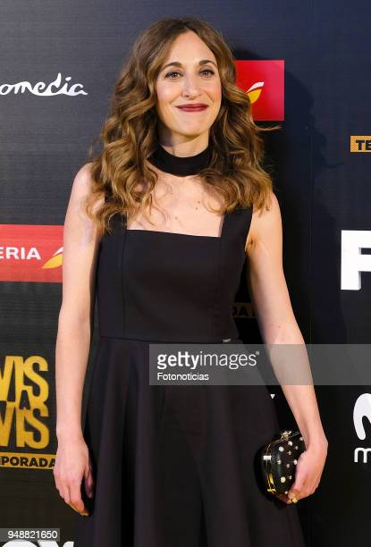 Marta Aledo attends the premiere of 'Vis a Vis' at Capitol Cinema on April 19 2018 in Madrid Spain