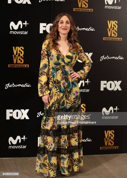 Marta Aledo attends the 'Vis A Vis' photocall at VP Plaza de Espana Hotel on April 19 2018 in Madrid Spain