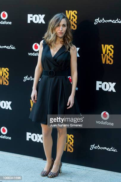 Marta Aledo attends 'Vis A Vis' photocall at Santo Mauro Hotel on November 29, 2018 in Madrid, Spain.
