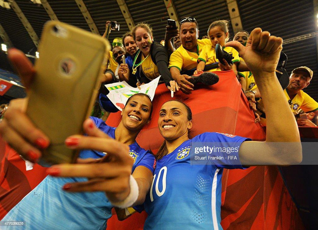 Brazil v Spain: Group E - FIFA Women's World Cup 2015 : News Photo
