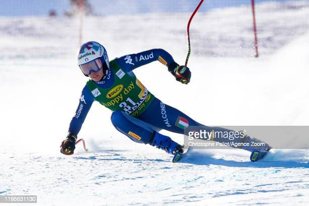 Marta Bassino of Italy competes during the Audi FIS Alpine Ski World Cup Women's Downhill on January 24 2020 in Bansko Bulgaria