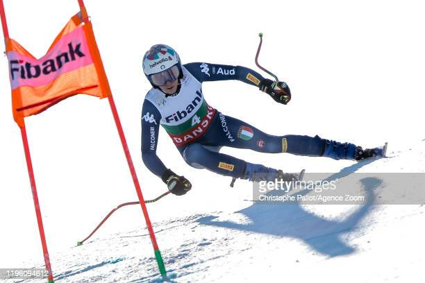 Marta Bassino of Italy competes during the Audi FIS Alpine Ski World Cup Women's Downhill on January 25 2020 in Bansko Bulgaria