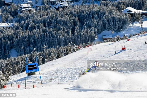 Marta Bassino of Italy competes during the Audi FIS Alpine Ski World Cup Women's Giant Slalom on December 19 2017 in Courchevel France