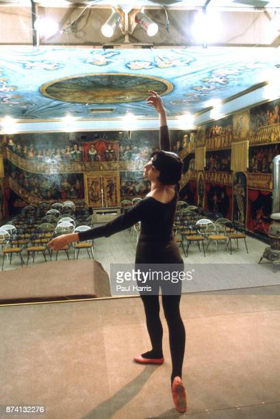 Marta Becket a New York Ballerina moved to Death Valley and rented a recreation hall in 1967 when it was known as Corkhill Hall she began repairs...