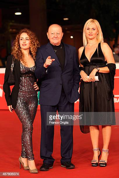 Marta Boldi, Massimo Boldi and Loredana De Nardis attend the Collateral Awards Photocall during the 9th Rome Film Festival on October 26, 2014 in...
