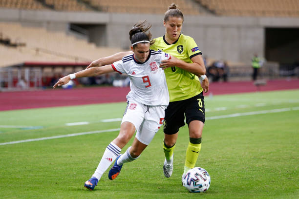 ESP: Spain Women v Czech Republic Women - UEFA Women's EURO 2022 Qualifier