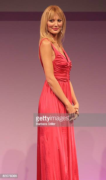 Marta Cecchetto attends the Petra Fashion Award on July 26 2008 in Duesseldorf Germany