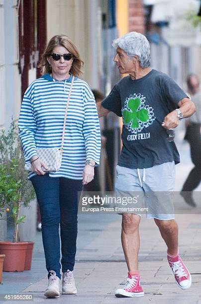 Marta Chavarri is seen on July 2 2014 in Madrid Spain