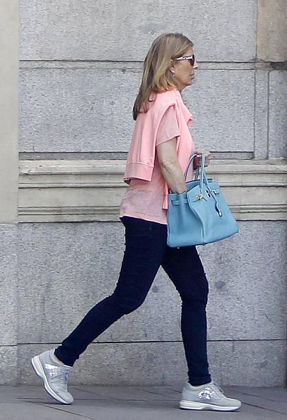 Marta Chavarri is seen on June 16 2014 in Madrid Spain
