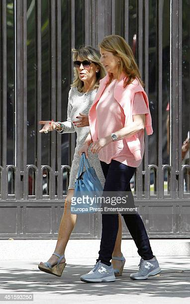 Marta Chavarri is seen on June 16 2014 in Madrid Spain