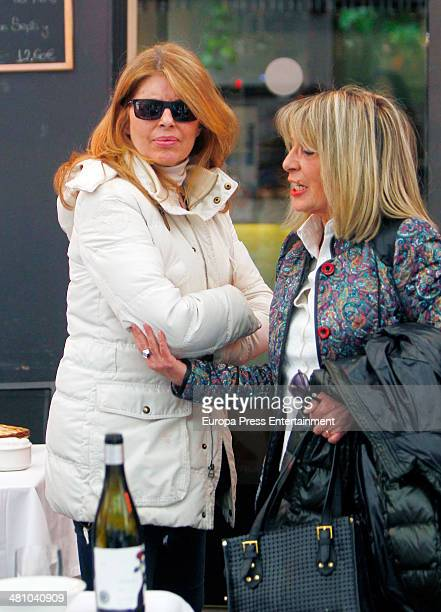 Marta Chavarri is seen on March 27 2014 in Madrid Spain