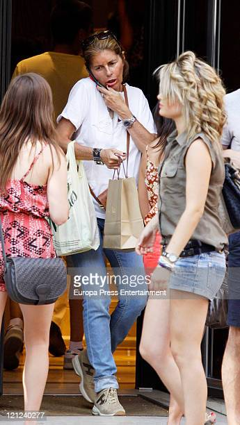 Marta Chavarri sighted on August 16 2011 in Madrid Spain