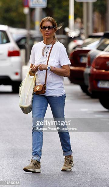 Marta Chavarri sighted on August 16 2011 in Madrid Spain