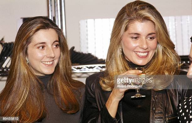 Marta Chavarri with her sister Isabel