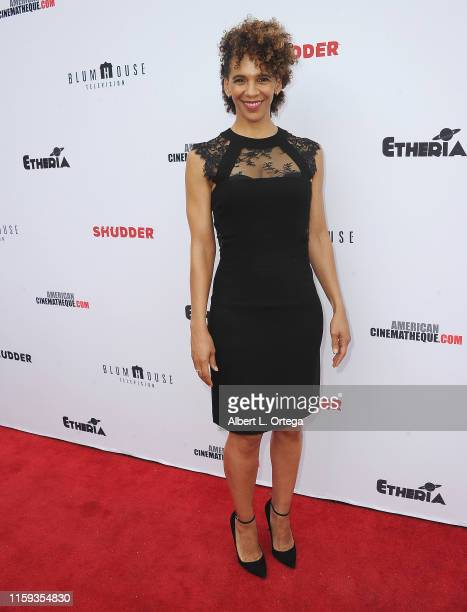 Marta Cuningham attends the 6th Annual Etheria Film Showcase held at American Cinematheque's Egyptian Theatre on June 29 2019 in Hollywood California