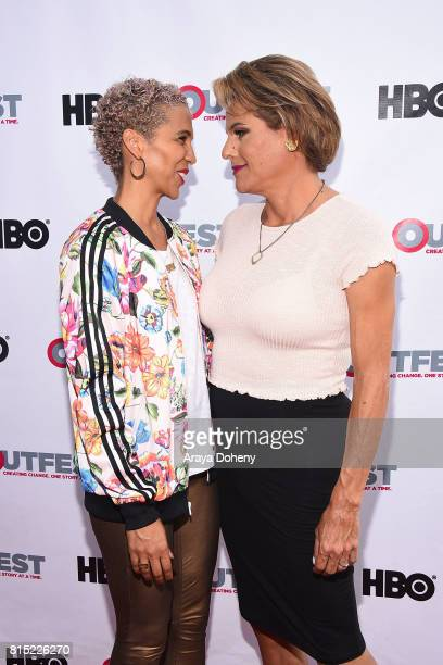 Marta Cunningham and Alexandra Billings attend the 2017 Outfest Los Angeles LGBT Film Festival screening of Amazon's Transparent Season 4 at...