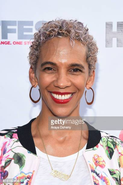 Marta Cunningham attends the 2017 Outfest Los Angeles LGBT Film Festival screening of Amazon's Transparent Season 4 at Director's Guild Of America on...