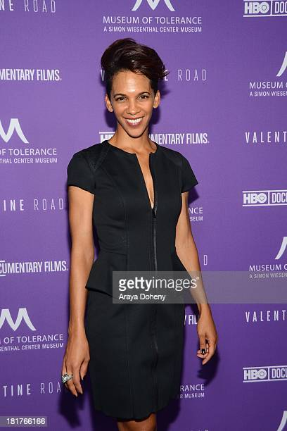 Marta Cunningham attends the Los Angeles premiere screening of Valentine Road at Museum Of Tolerance on September 24 2013 in Los Angeles California