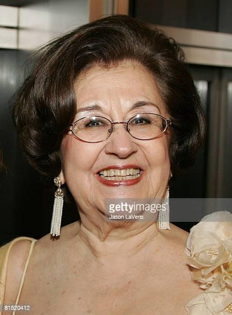 Marta Domingo at La Rondine LA Opera Opening Night at the Dorothy Chandler Pavilion on June 7 2008 in Los Angeles California