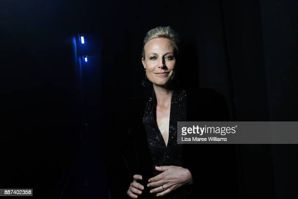 Marta Dusseldorp poses backstage during the 7th AACTA Awards Presented by Foxtel at The Star on December 6 2017 in Sydney Australia