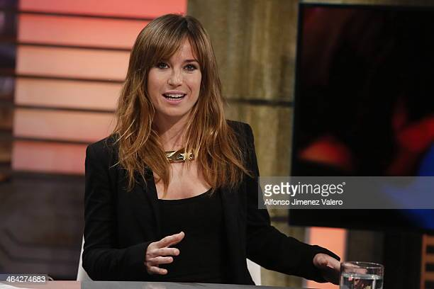 Marta Etura attends 'El Hormiguero' Tv Show  on January 21 2014 in Madrid Spain