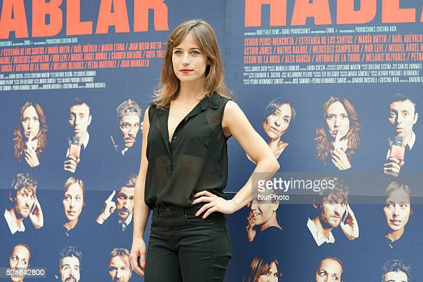 Marta Etura attends 'Hablar' photocall at Mirador Sala on June 10 2015 in Madrid Spain