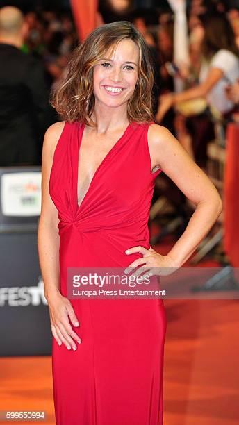 Marta Etura attends 'La Sonata del Silencio' premiere during FesTVal 2016 - Day 1 Televison Festival on September 5, 2016 in Vitoria-Gasteiz, Spain.